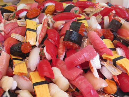 sushi toy Stock Photo