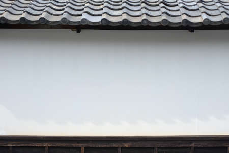 japanese style wall, ancient style