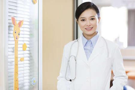 Pediatrician in childrens hospital