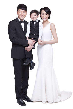 Portrait of happy family LANG_EVOIMAGES