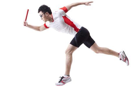 carrera de relevos: Macho, atleta, Funcionamiento, relé, bastón LANG_EVOIMAGES