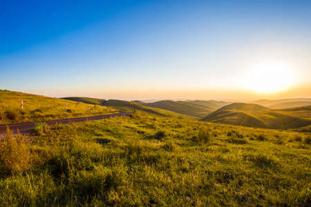 Grassland scenery in Hebei province, China
