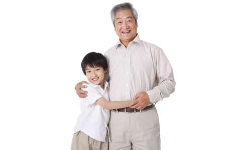 Grandfather and Grandson Bonding