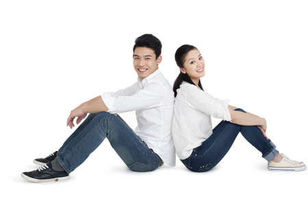 Happy young couple  LANG_EVOIMAGES