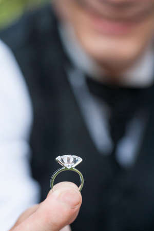 mixed marriage: The wedding ring
