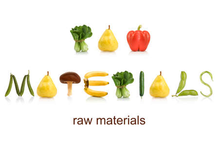 From the Health abet, raw materials