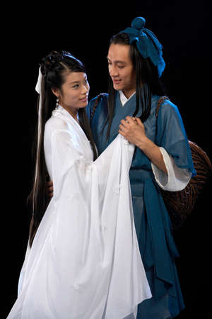 Niu Lang Zhi Nv, Chinese fairy tale romance characters LANG_EVOIMAGES