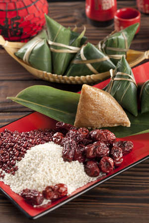 stuffing: Zongzi and its ingredients LANG_EVOIMAGES