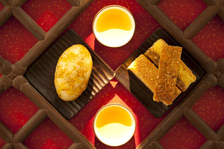 Chinese traditional dim sum and tea