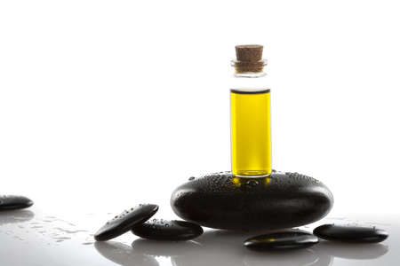 Close-up of aromatherapy oil