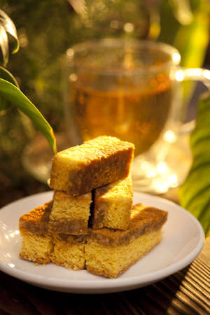 Chinese food—walnut shortbread LANG_EVOIMAGES