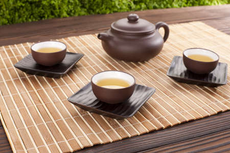 cup four: Chinese Tea and tea set