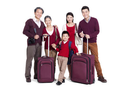 Joyful family going for a vacation LANG_EVOIMAGES