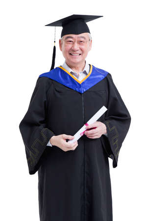 looking for job: Senior student cheering for graduation LANG_EVOIMAGES