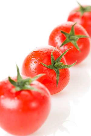 food: Fresh cherry tomatoes