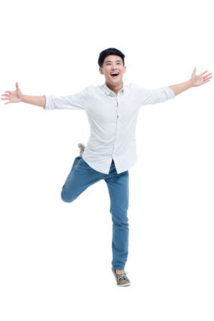 Happy young man LANG_EVOIMAGES