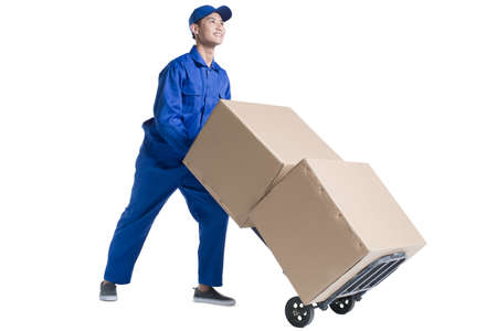 cardboard only: House-moving service