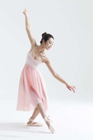 one adult only: Ballerina dancing