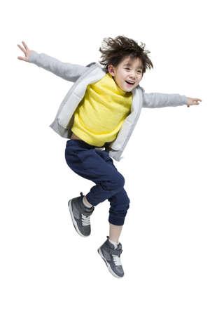 Cute boy break dancing LANG_EVOIMAGES