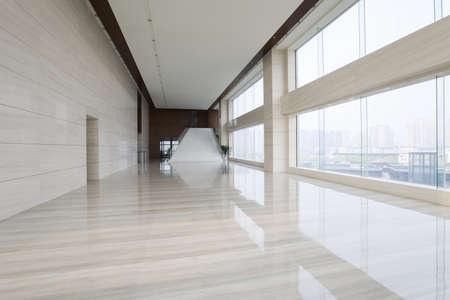 office hallway. Modern Office Building Hallway Stock Photo - 75120185