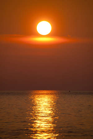 Sunset over the Sea of Japan