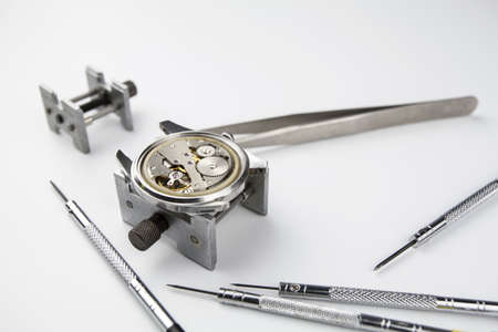 Wristwatch and repair tools