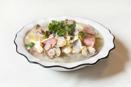 almeja: Deliciosa cocina china