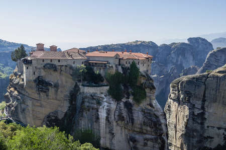 Monastery of Agia Triada in Meteora,Greece LANG_EVOIMAGES
