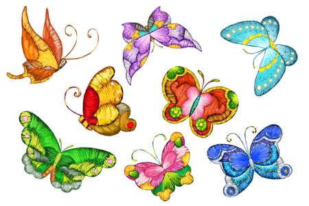 Olika fjärilar LANG_EVOIMAGES