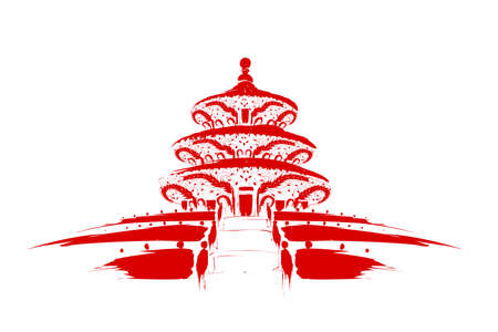 harvests: Hall of Prayer for Good Harvests of Temple of Heaven in Beijing,China