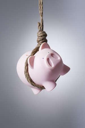 Hanging piggy bank
