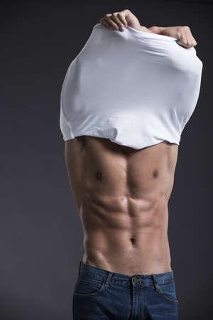 Young muscular man