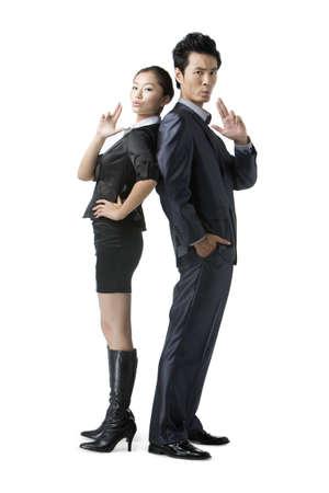 Portrait of business team LANG_EVOIMAGES