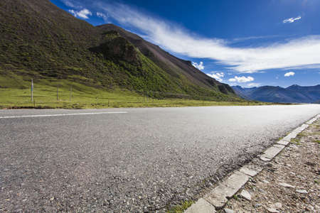Road in Tibet, China