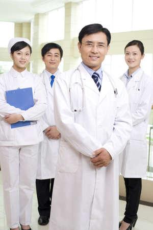 Portrait of a professional medical team