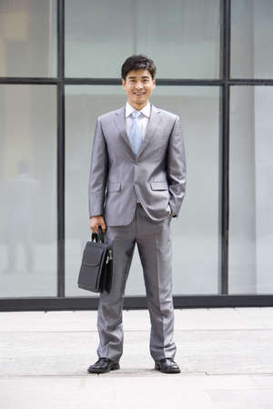 Chinese businessman LANG_EVOIMAGES
