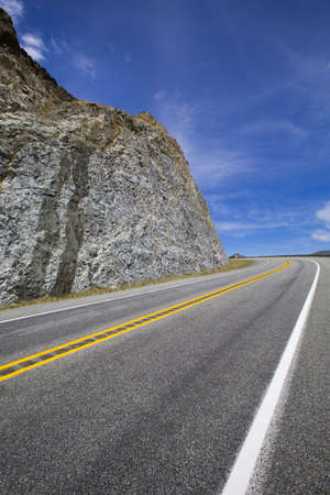 swerving: Road going through the mountains LANG_EVOIMAGES