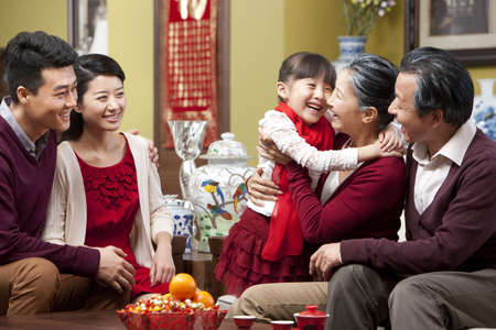 new age: Family reunion during Chinese New Year