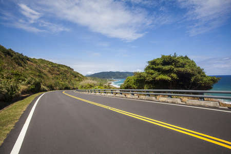 Highway in Taiwan, China