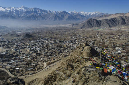 townscape: Townscape of Leh, India