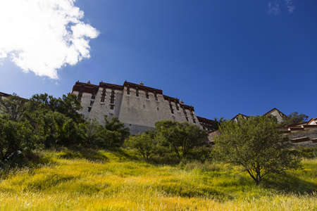 Potala palace in Tibet, China