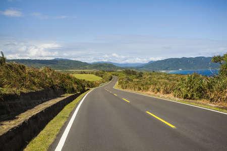 vanishing point: Highway in Taiwan, China