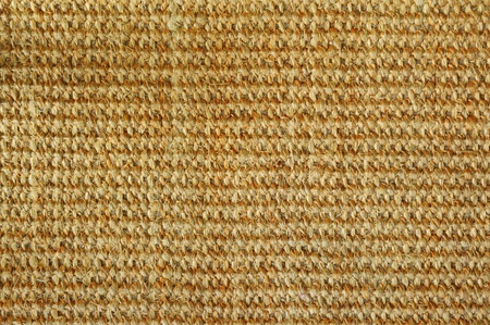 weave texture of handmade carpet photo