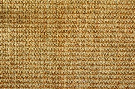 weave texture of handmade carpet photo