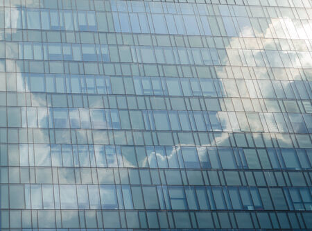 reflect: Cloud reflect on building