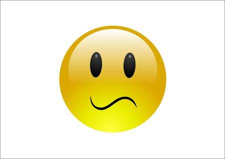 perplesso: Emoticon Aqua - Confused