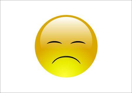 glum: Aqua Emoticons - Sad 3