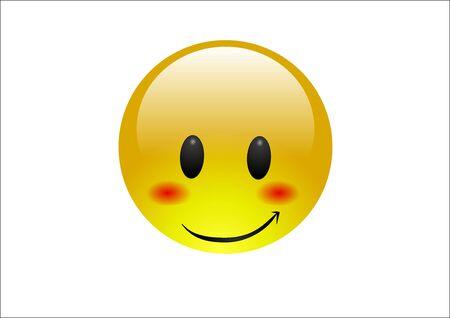 Aqua Emoticons - Blush