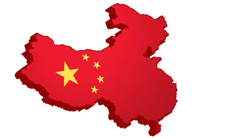 mainland: 3D Map of mainland China