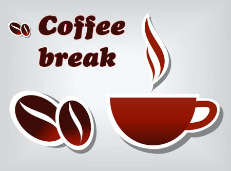 Coffee break Stock Vector - 10768476